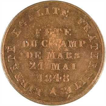 IIe République, Fête du champ de Mars le 21 mai, 1848 Paris
