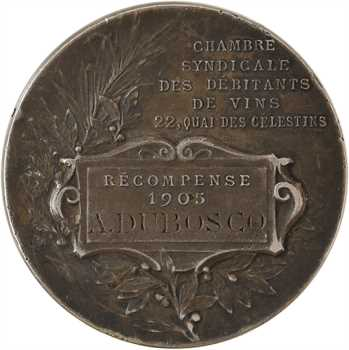 IIIe République, Chambre Syndicale des débitants de vins, par Rasumny, 1905