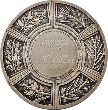 Cochet (R.) : automobile-club des Landes (les moissons), en argent, s.d. Paris