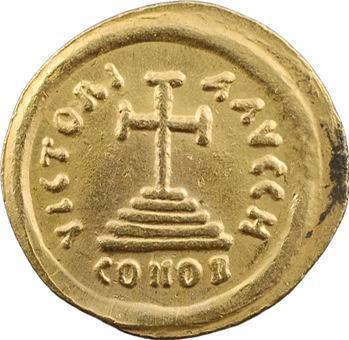 Tibère II Constantin, solidus, Ravenne, An 8 = 581-582