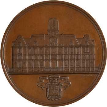 Second Empire, inauguration du Palais de l»Académie et des Facultés de Nancy, par Dantzell, 1862 Paris