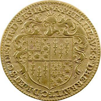 Chambre aux deniers, Raymond Phélypeaux, trésorier de l'Épargne, 1606