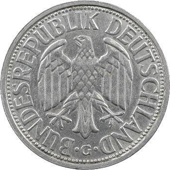 Allemagne (République fédérale), 2 mark, 1951 Karlsruhe