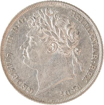 Royaume-Uni, Georges IV, shilling, 1824 Londres