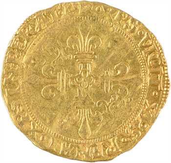 François Ier, écu d'or au soleil du Dauphiné 7e type, Romans
