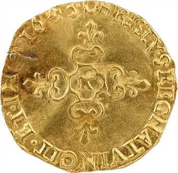 Louis XIII, écu d'or au soleil, 1643 Bordeaux