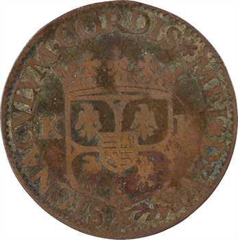 Charleville (principauté de), Charles Ier de Gonzague, liard 1er type, 1607 Charleville