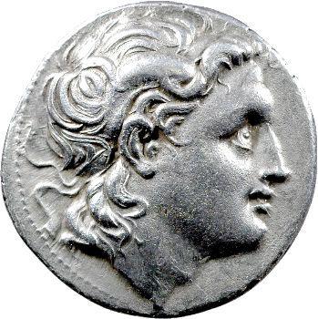 Lysimaque, tétradrachme, atelier indéterminé, 323-281 av. J.-C.