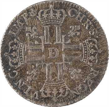 Louis XV, petit louis d'argent, 1720 Lyon