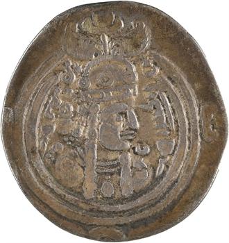 Royaume Sassanide, Buran, drachme, Amul ?, 630-631