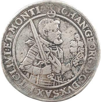 Allemagne, Saxe (duché de), Jean-Georges Ier, thaler, 1620 Dresde