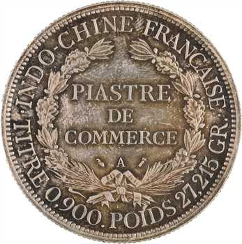 Indochine, 1 piastre, 1885 Paris