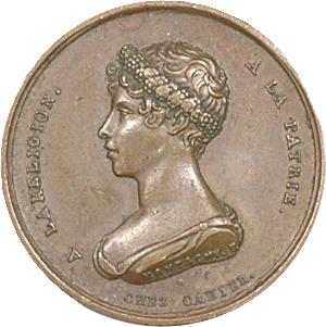 Duchesse de Berry, naissance d'Henri V, par Montagny, 1820 Paris