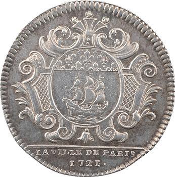 Paris (ville de), Pierre Antoine de Castagnère, prévôt des marchands, 1721
