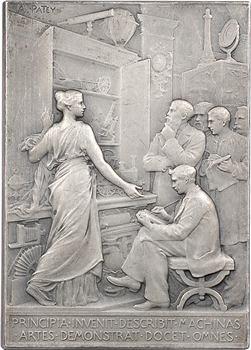 Patey (A.) : Conservatoire National des Arts et Métiers, conférences de 1923 (attribuée), 1923 Paris