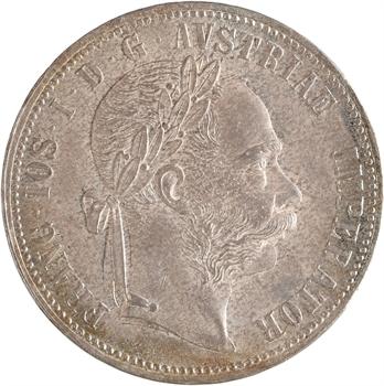 Autriche, François-Joseph Ier, florin, 1886 Vienne