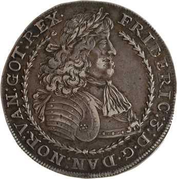 Norvège, Frédéric III, speciedaler, 1665 Oslo