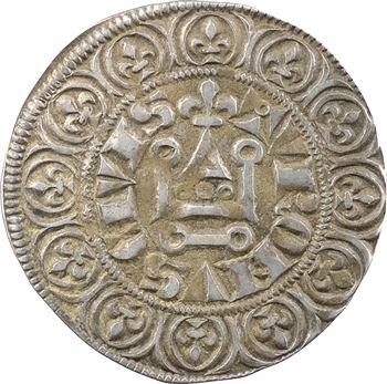 Philippe IV, gros tournois à l'O long et au lis
