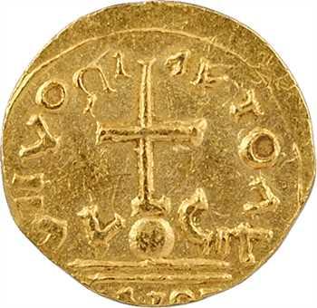 Uzès (Gard), trémissis au nom de Maurice Tibère