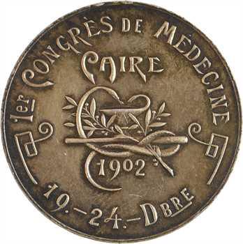Égypte, Congrès de médecine du Caire, 19 au 24 décembre 1902
