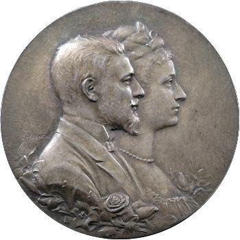 Mariage du duc d'Orléans, Vienne le 5 novembre 1896