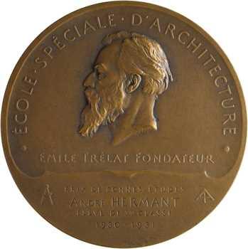Ozana (C.) : Prix de l'école d'Architecture, à M. André Hermant, 1911 (1931) Paris