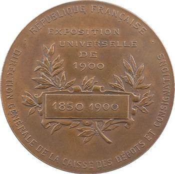 IIIe République, Exposition Universelle, cinquantenaire de la Caisse des retraites, 1900 Paris