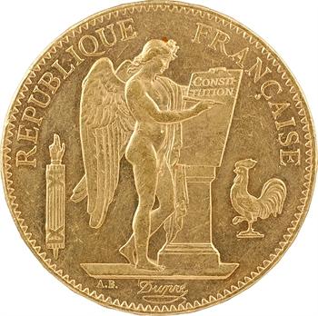 IIIe République, 100 francs Génie, 1879 Paris