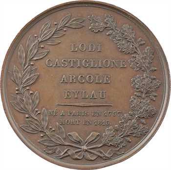 Premier Empire, décès de Pierre Augereau, duc de Castiglione, maréchal de France, par Caunois, s.d. Paris ?