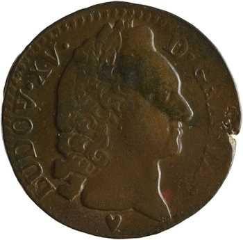 Louis XV, sol d'Aix, 1770 Aix-en-Provence