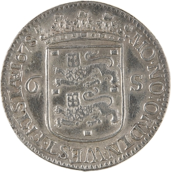 Pays-Bas, Frise occidentale, 6 stuivers (escalin), 1678