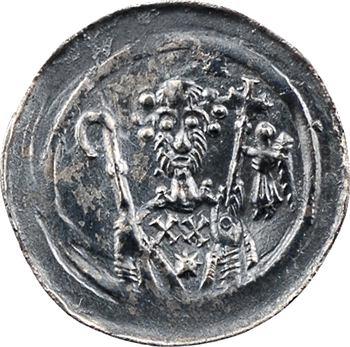 Strasbourg (évêché de), denier anonyme, série à l'ange, s.d. (1138-1284) Strasbourg