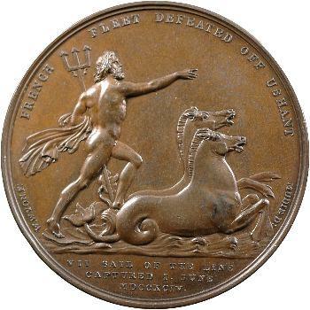 Royaume-Uni, Troisième bataille d'Ouessant (Glorieux Premier Juin), 1794