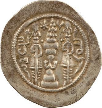 Royaume Sassanide, Chosroès Ier, drachme, An 11 (c.542-543) Samarcande (?)