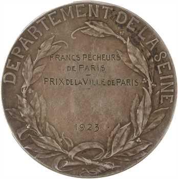 Prud'homme (G.-H.) : prix de la ville de Paris aux francs pêcheurs, 1923 Paris