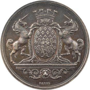 IIIe République, Amiens, la fête nationale, 1880 Paris