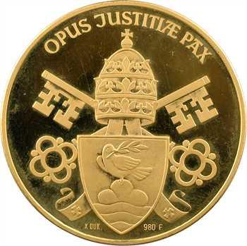 Vatican, Pie XII, médaille en or PROOF, 1958