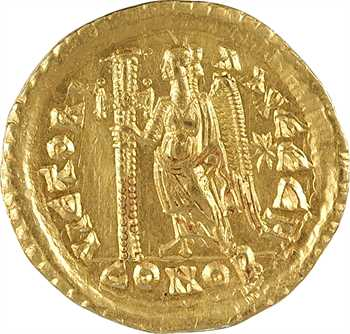Léon, solidus, Constantinople, 8e officine, 462 ou 466