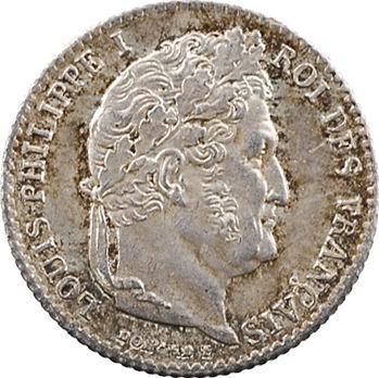 Louis-Philippe Ier, 1/4 franc, 1843 Paris