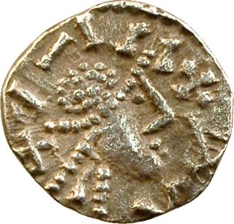 Anglo-Saxons, denier ou sceat au buste diadémé, s.d. (c.695-710)