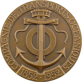 IVe République, centenaire de la Compagnie de Transports Océaniques, par Baron, 1852-1952 Paris