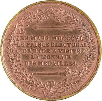 Premier Empire, visite de la Monnaie par le Prince de Bade, 1806