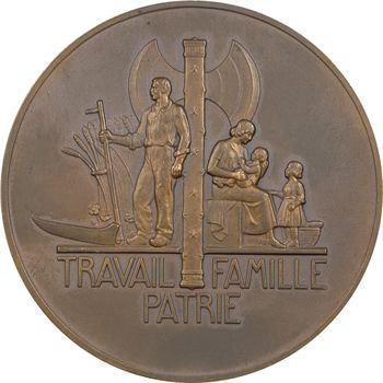 État français, le Maréchal Pétain par Pierre Turin, 1941 Paris