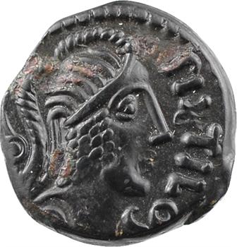 Carnutes, bronze PIXTILOS au cavalier, classe VII, c.40-30 av. J.-C.