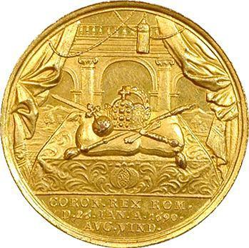 Saint Empire, sacre de Joseph Ier, roi des Romains, 1690