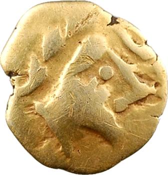 Carnutes, huitième de statère à l'aigle et rosace ?, c.IIe-Ier s. av. J.-C.