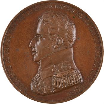 Charles X, Hommage de la Garde Nationale (avénement au trône), 1824