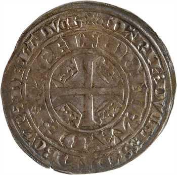 Lorraine (duché de), Marie de Blois, plaque, s.d. (1346-1352) Nancy