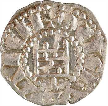 Jérusalem (royaume de), Baudoin III, denier, s.d. (1143-1163)
