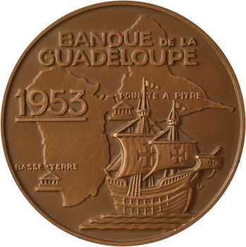 Guadeloupe, centenaire de la Banque de la Guadeloupe, 1953 Paris